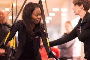 corrección postura entrenamiento trx